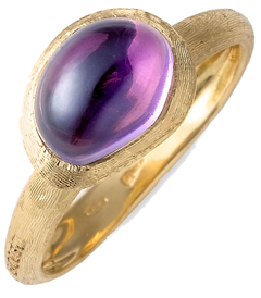 The Fake Out: Amethyst Rings