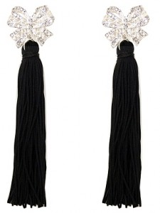 The Fake Out: Tassel Earrings