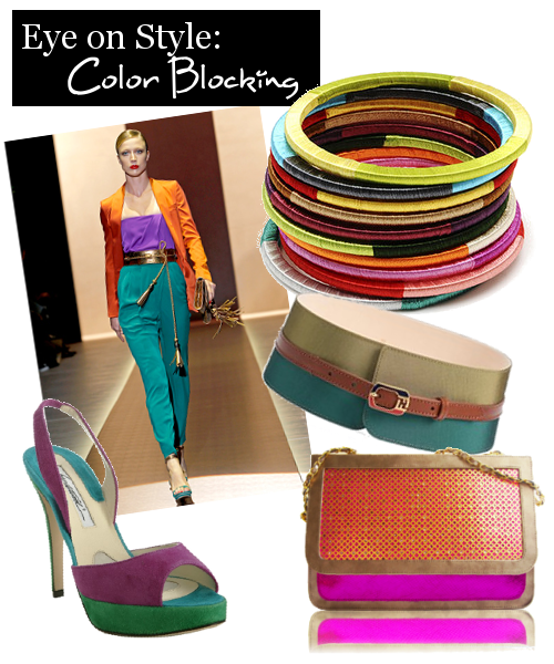 Eye on Style: Color Blocking