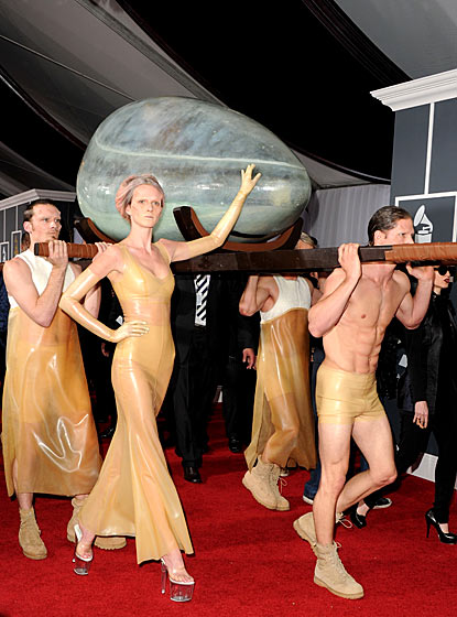 The 53rd Annual GRAMMY Awards - Lady Gaga