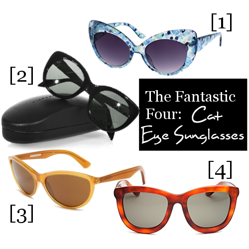 The Fantastic Four: Cat Eye Sunglasses