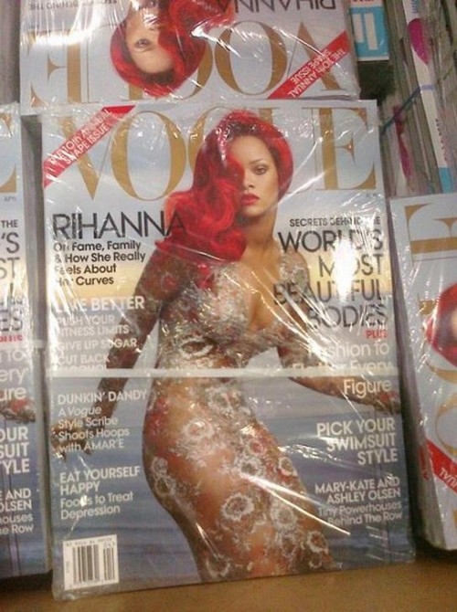 Rihanna Vogue Magazine Cover April 2011