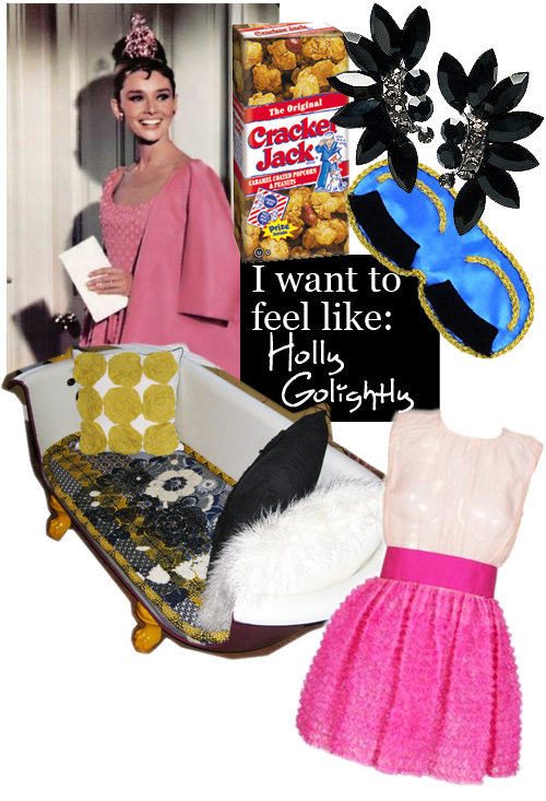 I Want to Feel Like: Holly Golightly