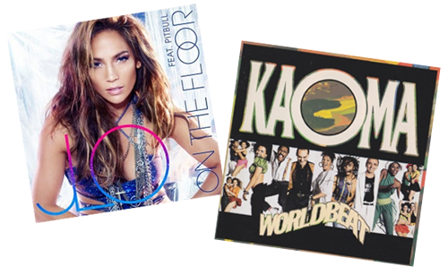 JLo Pitbull On the Floor, Kaoma World Beat Lambada