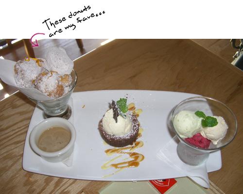 Matchbox Dessert Trio