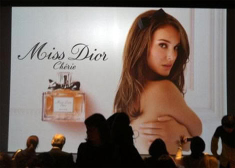 Natalie Portman Miss Dior Cherie