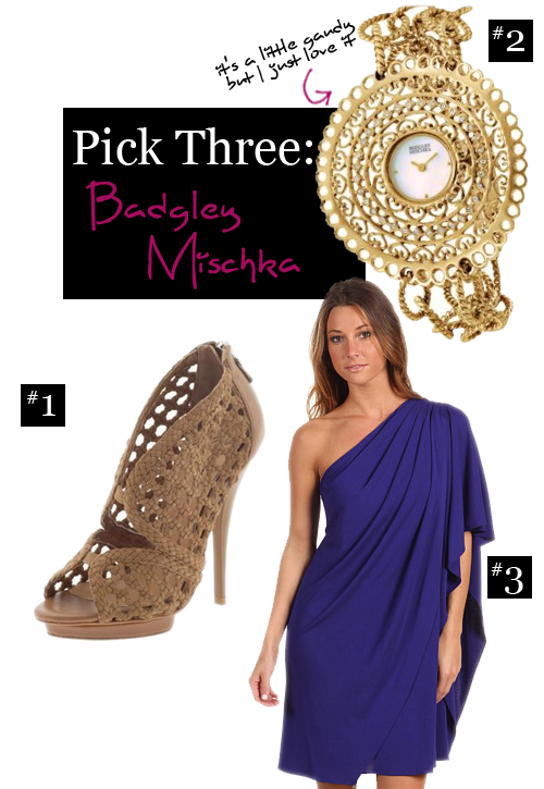 Pick Three: Badgley Mischka