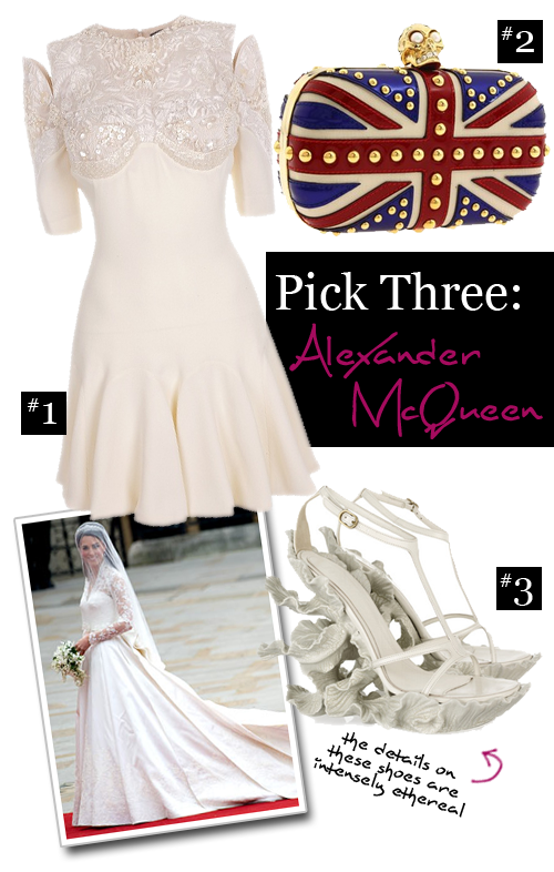 Pick Three: Alexander Mcqueen