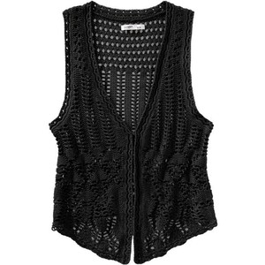 The Fake Out Crochet Vests
