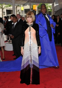 Andre Leon Talley & Anna Wintour
