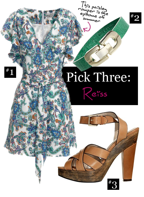Pick Three : Reiss