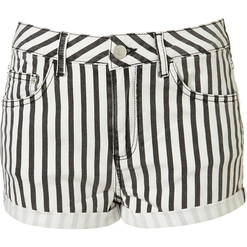 The Fake Out: Striped Shorts