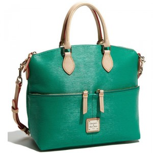 The Fake Out: Kelly Green Bags