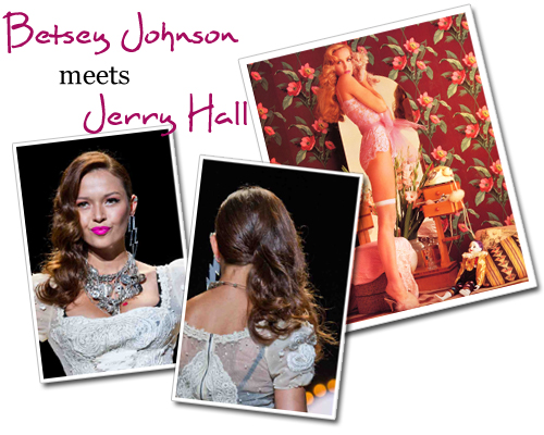 Betsey Johnson Meets Jerry Hall
