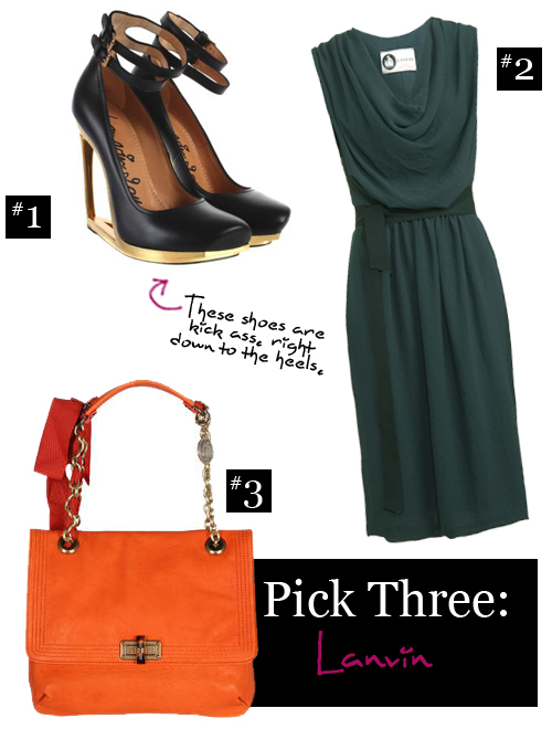 Pick Three: Lanvin