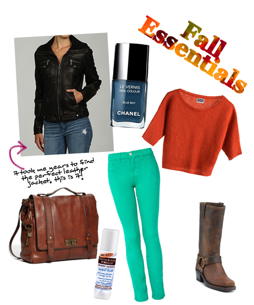 My Fall Essentials