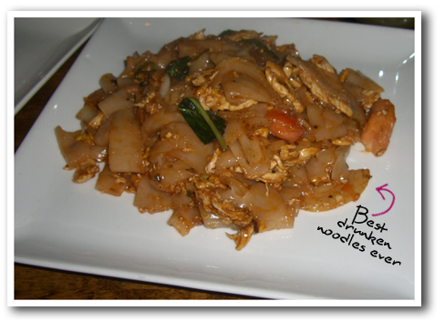 Drunken Noodles from Lanter
