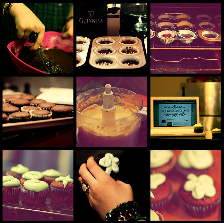 Guinness & Baileys Cupcakes