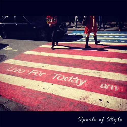 Live for Today 9/11 SoHo Street Art