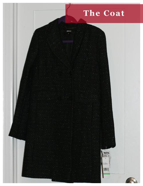 The DKNY Coat - $23.99