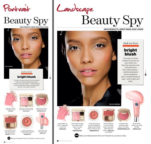 Lucky Magazine October Issue Digital vs Print